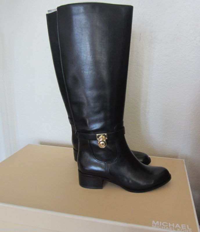 Black HAMILTON Riding Boots by Michael Kors http://www.wonderfinds.com