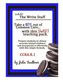 Citing textual evidence lesson plan high school