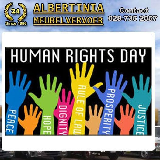 Today is National Human Rights Day! Human Rights Day (21 March) was officially declared a public holiday in 1994 following the inauguration of former president Nelson Mandela. This national day-off is both a stark reminder of the tragic Sharpeville massacre and a celebration of South Africa's unique constitution, which gives equal rights to all. #NationalHumanRightDay