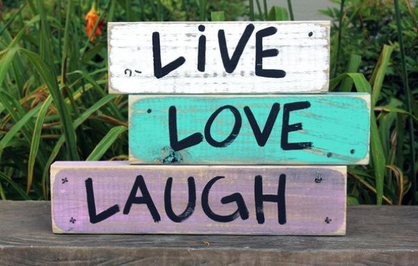 Vis, aime, ris