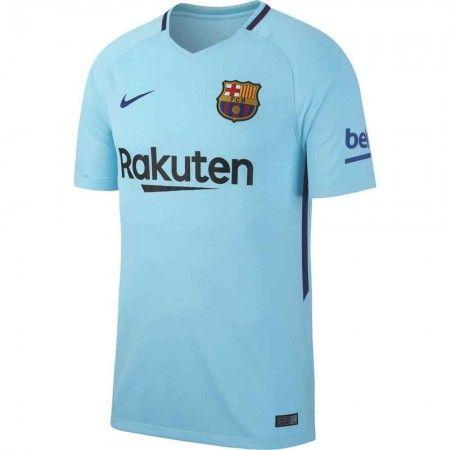 Barcelona Udebanetrøje 17-18 Kort ærmer  #Billige Fodboldtrøjer