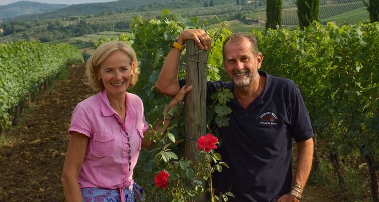Alessandro and Nicoletta,husband and wife , are the owners of Viticcio