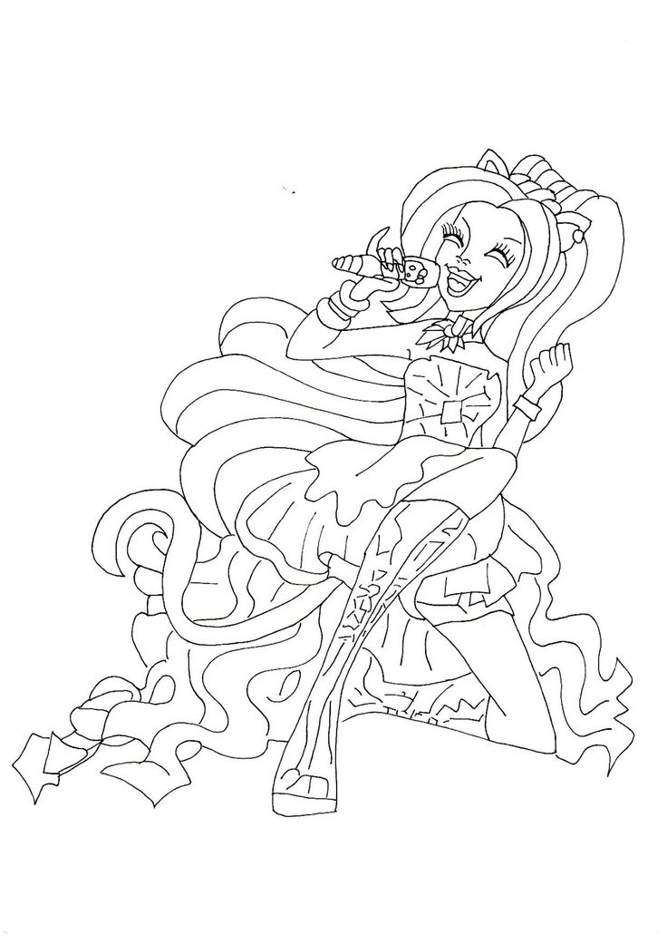 monster high coloring pages - York Coloring Pages Printable