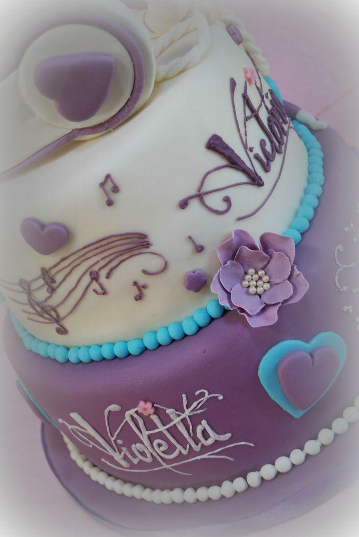 Cake Design Violetta : Violetta cake Violetta party Pinterest Cakes