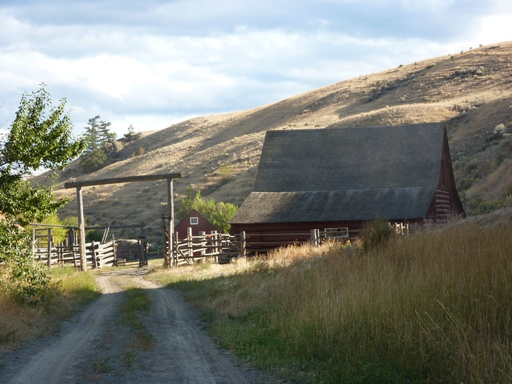 Beautiful Hat Creek Ranch on the Cariboo highway, BC