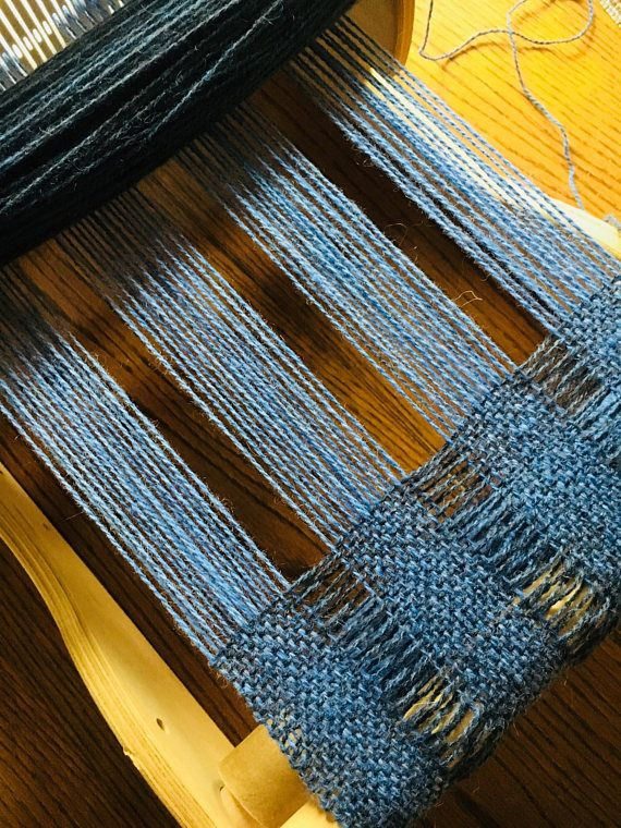 "This ""light as a feather"" scarf weaves up quickly on a rigid heddle loom. Learn how to create texture with a crammed and spaced threading. And with the addition of a second color in the weft you also have a color-block look. Finished Measurements: 7 1/2"" X 64 inches plus fringe Weave"