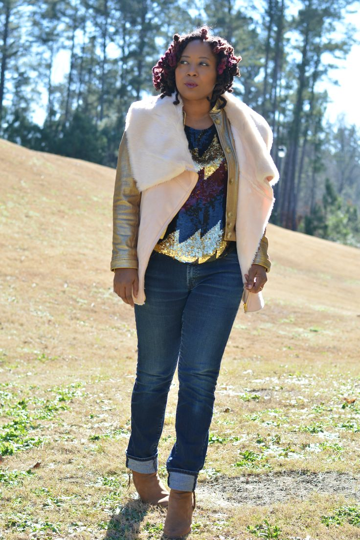 Thrift Store Clothes Refashion Sequins
