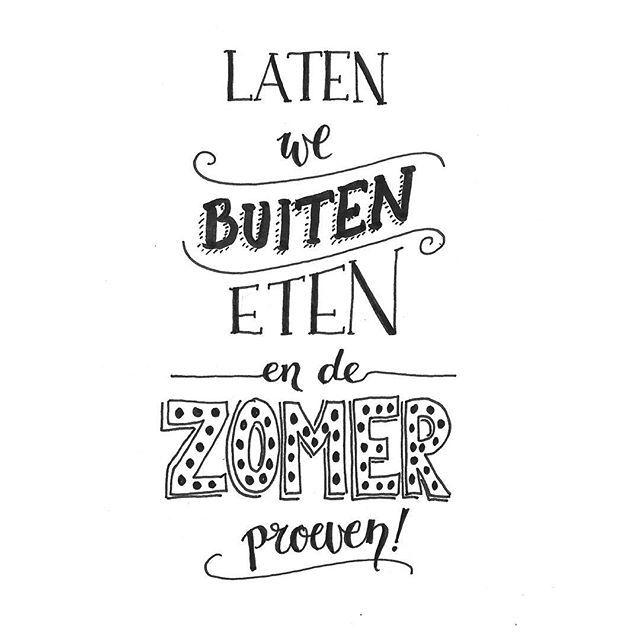 Wat was het een mooie dag vandaag!  #letterart #lettering #handlettering #handdrawn #handwritten #handmadefont #sketch #doodle #draw #tekening #illustrator #typspire #dailytype #typedaily #modernlettering #moderncalligraphy #quote #illustration