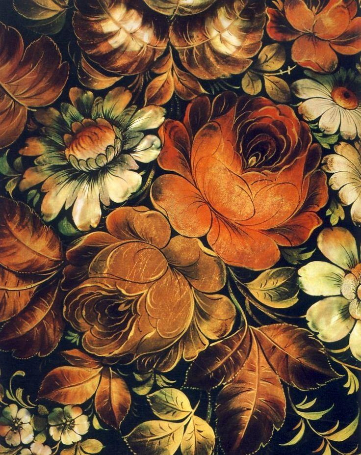 82 Best Zhostovo Painting Жостовская роспись Images On
