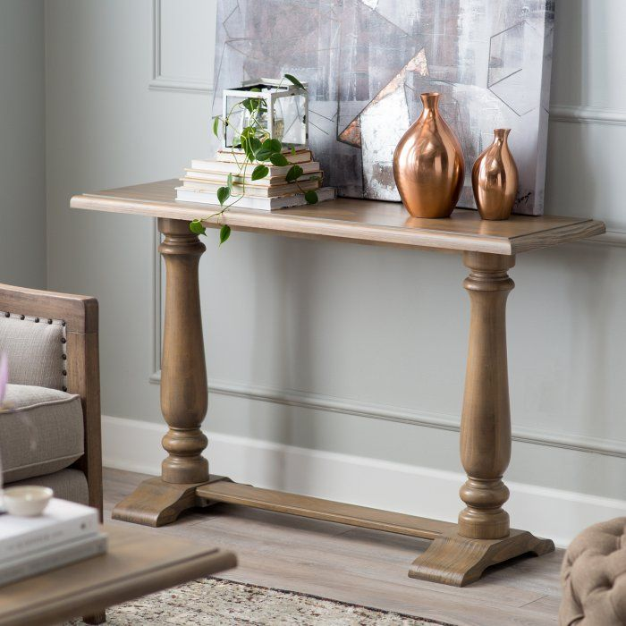 Belham Living Kennedy Console Table Contemporary Console Table