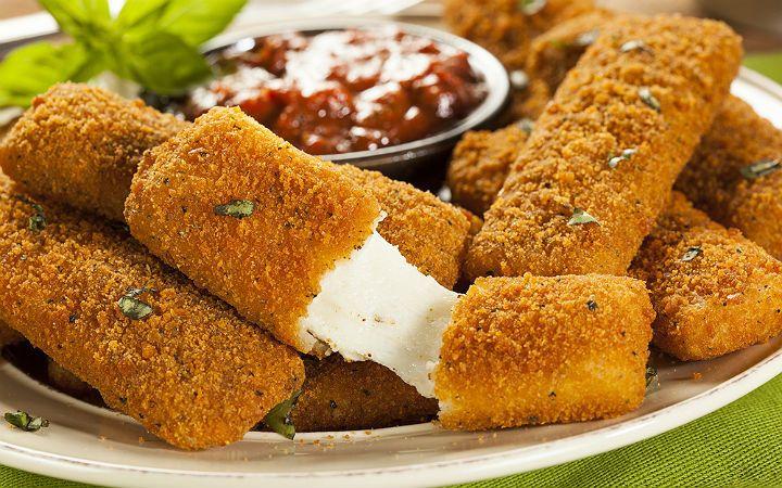 Mozzarella Sticks Tarifi
