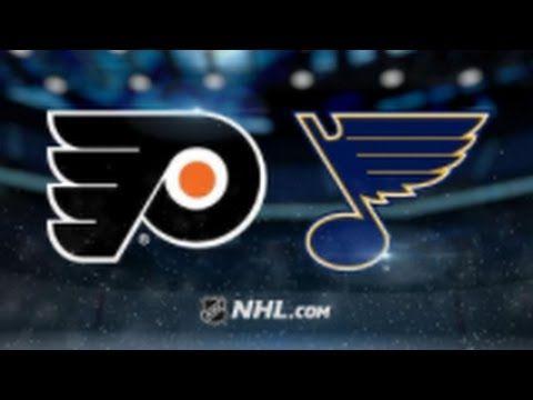 Philadelphia Flyers vs St. Louis Blues NHL Game Recap