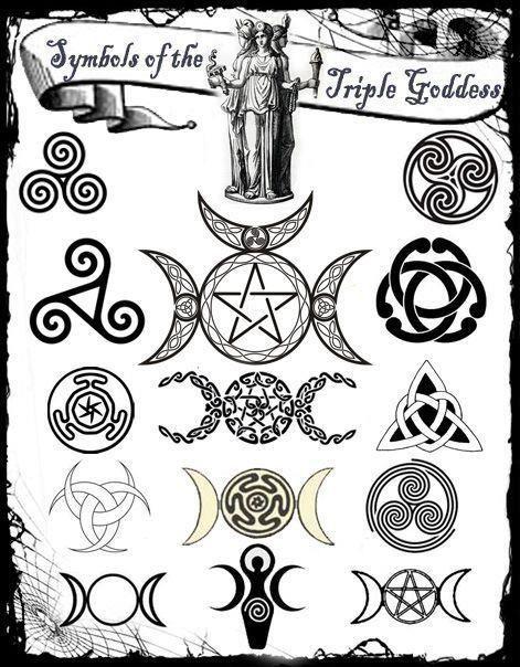3 Symbols Of The Triple Goddess Wicca