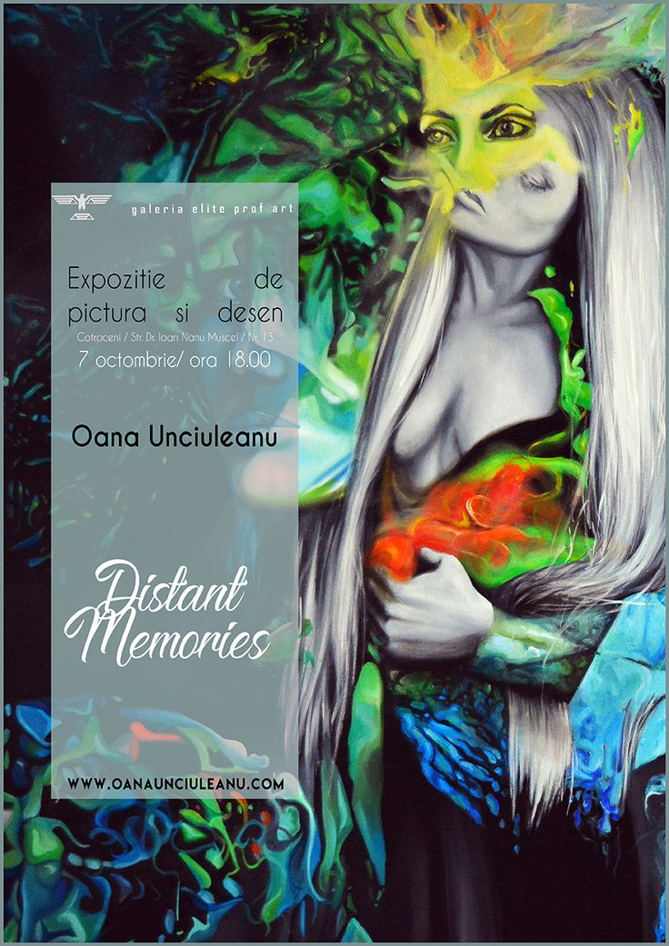 Distant Memories la Galeria Elite Prof Art by Oana Unciuleanu