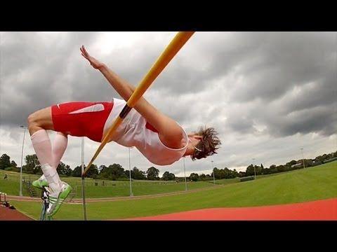 Physics of High Jump - Fosbury Flops Invade London