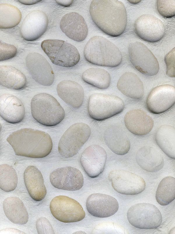 Beach Pebbles / Witte Kiezel € 44,95 per m2