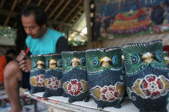 Lokasi Pusat Kerajinan Batik Kayu Krebet Jogja