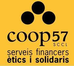 Coop57 (C/Premià, 15 baixos)  Cooperativa de serveis financers creada l'any 1996 orientada a promoure la intercooperació i satisfer les necessitats financeres de l'economia solidària. Aquest objectiu el compleix recollint estalvi de persones individuals i oferint crèdit i assessorament a entitats de l'economia soldària sòcies de la cooperativa. #pamApam