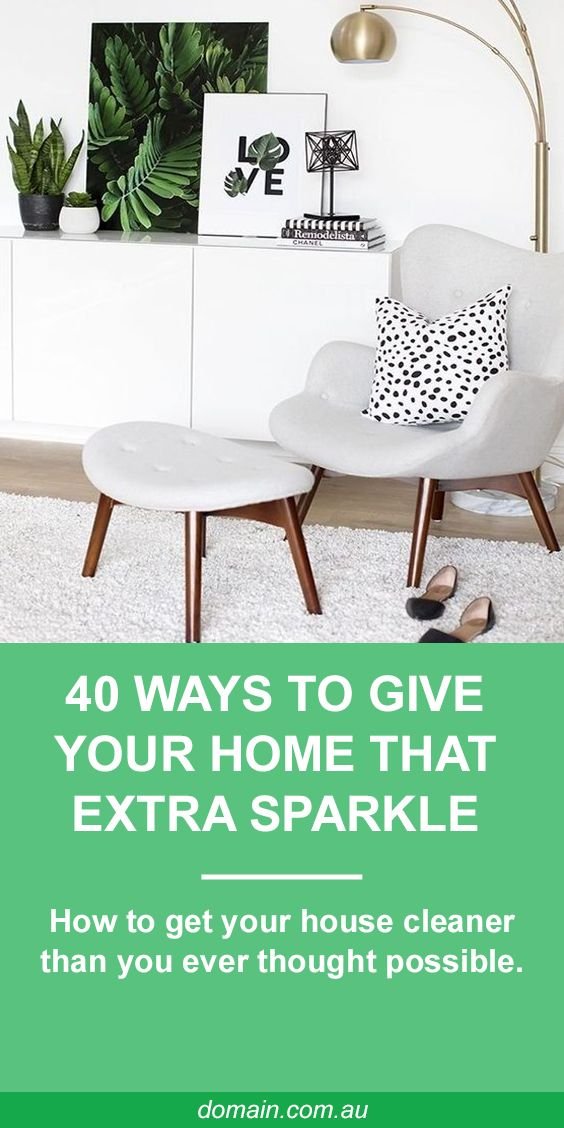 When it comes to sprucing up a whole home, even the cleanest of clean freaks can miss the little things. On a surface level everything may look clean, but there's plenty more that can be done. Use the tips below to give your home that extra sparkle.