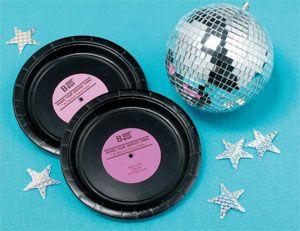 decoração festa anos 70