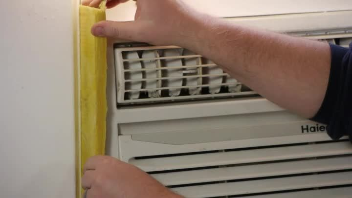 Video: How to Seal an Air Conditioner Window Gap