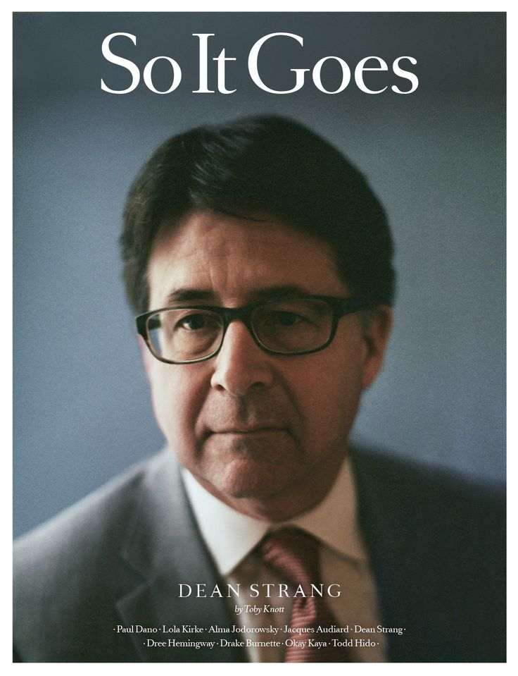 So It Goes is a creative agency and arts magazine sold worldwide.