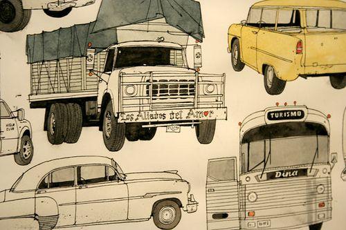Evan Hecox Artwork (Detail) | Flickr - Photo Sharing!