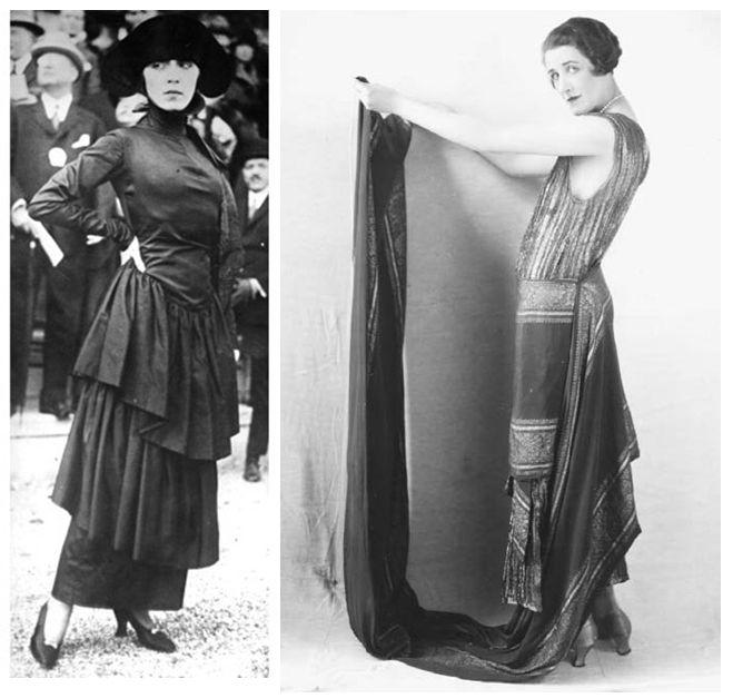 Hobble skirt 1919