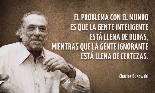 24Frases cínicas deCharles Bukowski