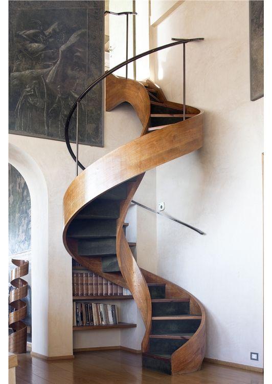 Spiral staircase idea - Home and Garden Design Idea's