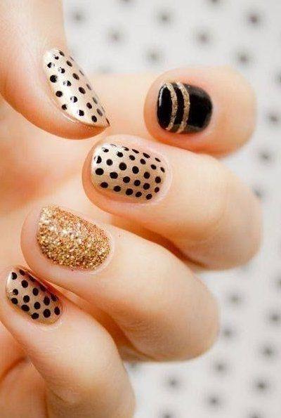 Fab polka dot nails and nail art inspirations | Fashion Te