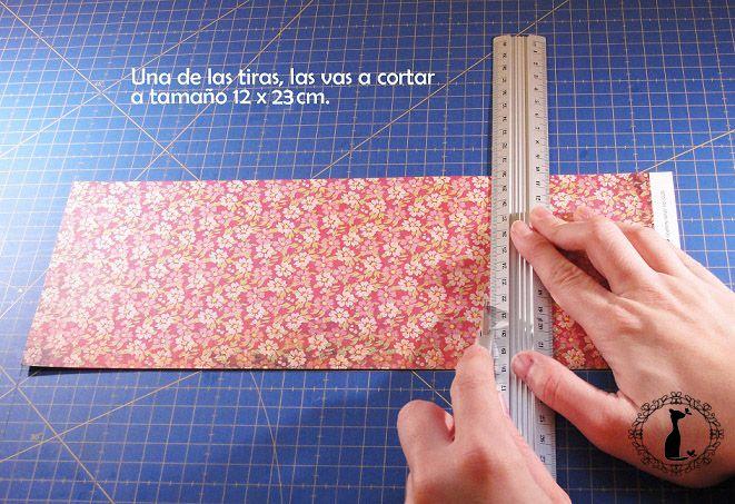 Carpeta con separadores - Tutorial paso a paso Cinderella 2