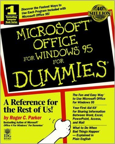 Microsoft Office for Windows 95 for Dummies: Amazon.ca: Roger C. Parker: Books