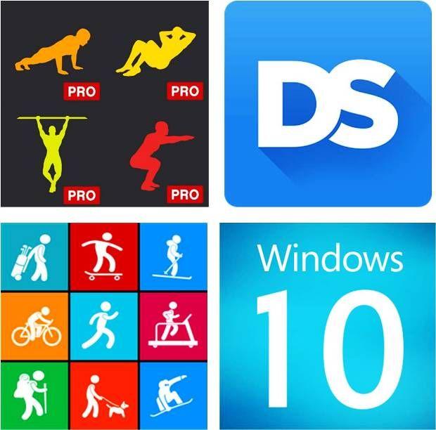 Cuide do shape com 3 aplicativos para Windows 10. Confira! #apps #aplicativos #fitness #Windows10 #treino #esportes #corrida #atletismo #boaforma #tecnologia #saúde
