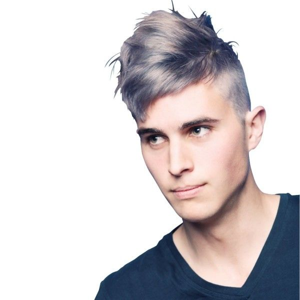2014 men�s hair color trends wolves silver hair men and