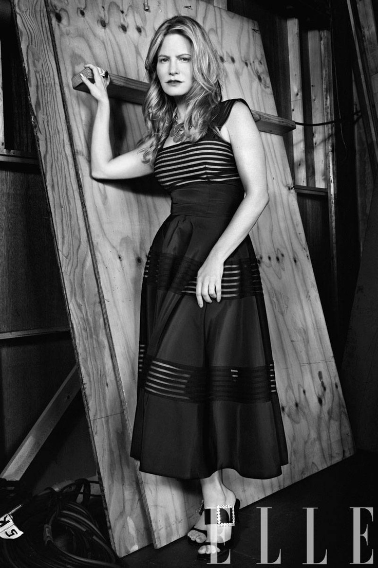 Jennifer Jason Leigh - Elle Magazine