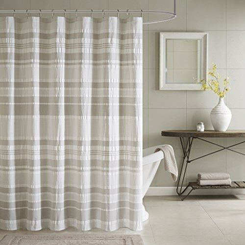 INK+IVY II70 659 Lakeside Cotton Shower Curtain, 72 X 72u0027,