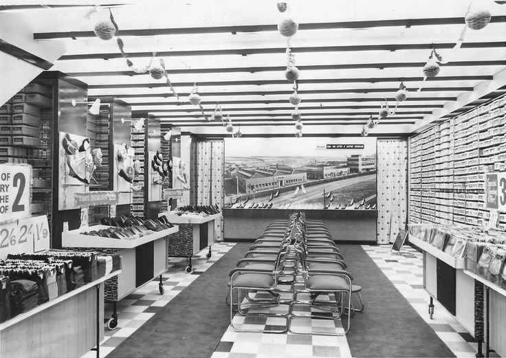 Bata Workington Store ca. 1960 #batashoes