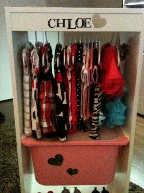 IKEA Hackers: Baby Fashionista Wardrobe (Baby Shower Gift)