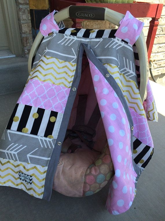 Car Seat Canopy STUNNING custom patchwork by CoveredNLove1 on Etsy & 235 best car seat canopy images on Pinterest | Car seat canopy ...