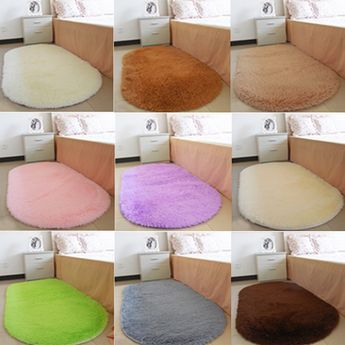Tapis salon Floor Rugs Non-slip Bath Mats Bathroom Carpets Oval Absorbent Soft Memory carpets for living room 1Pcs