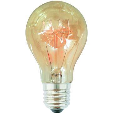 Bec decorativ Edison A19 40W E27, 220-240V