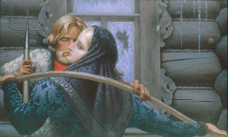 Константин Васильев. У чужого окна.-prohibited love