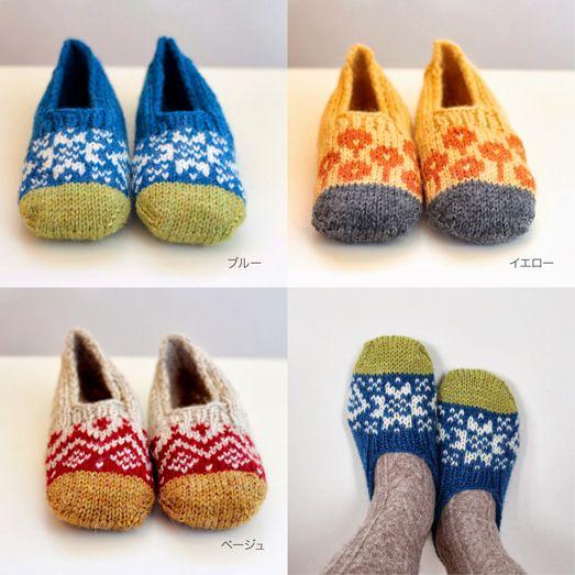 東京、世田谷の北欧・東欧ヴィンテージ食器や雑貨のお店「fukuya」さんでの 棒針編みのワークショップのお知らせです。 12月はトゥの色を切り替えた「...