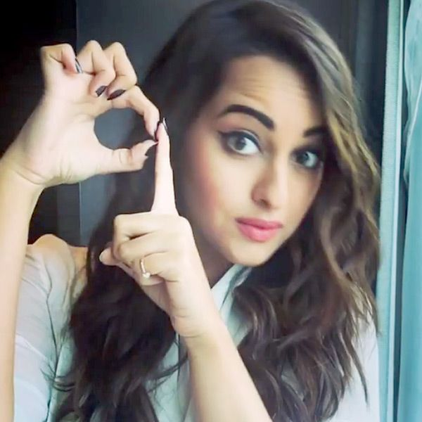 Sonakshi Sinha hinting on release of her movie