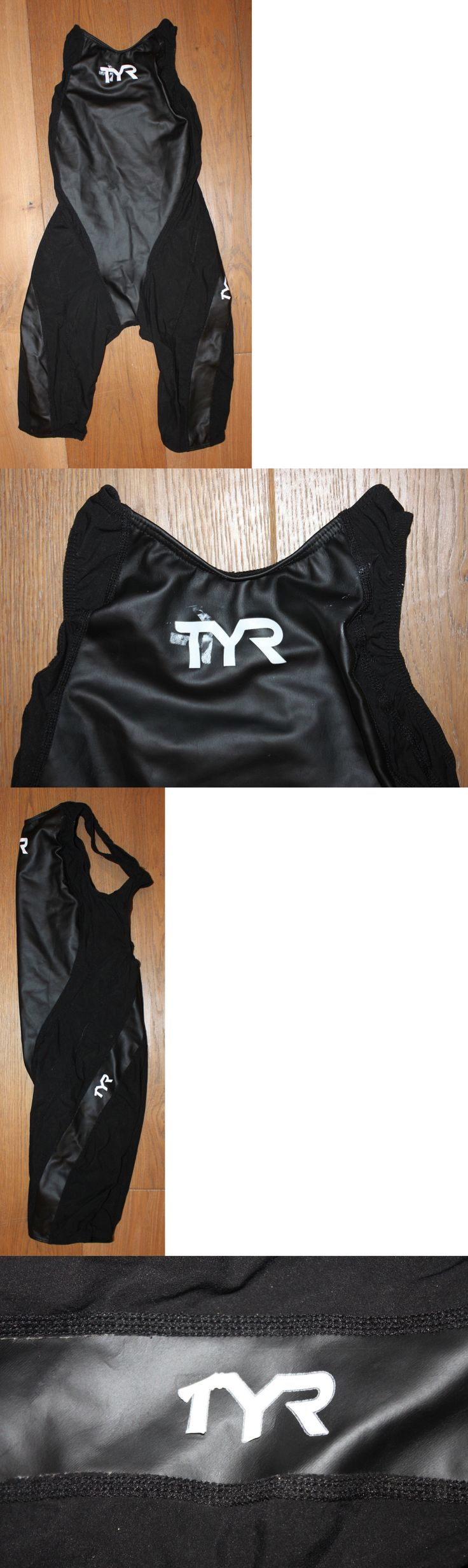 Women 140051: New Women S Tyr Black Tracer Rise Short John Aero Back Tri Suit - Usa Made - 30 -> BUY IT NOW ONLY: $54.95 on eBay!