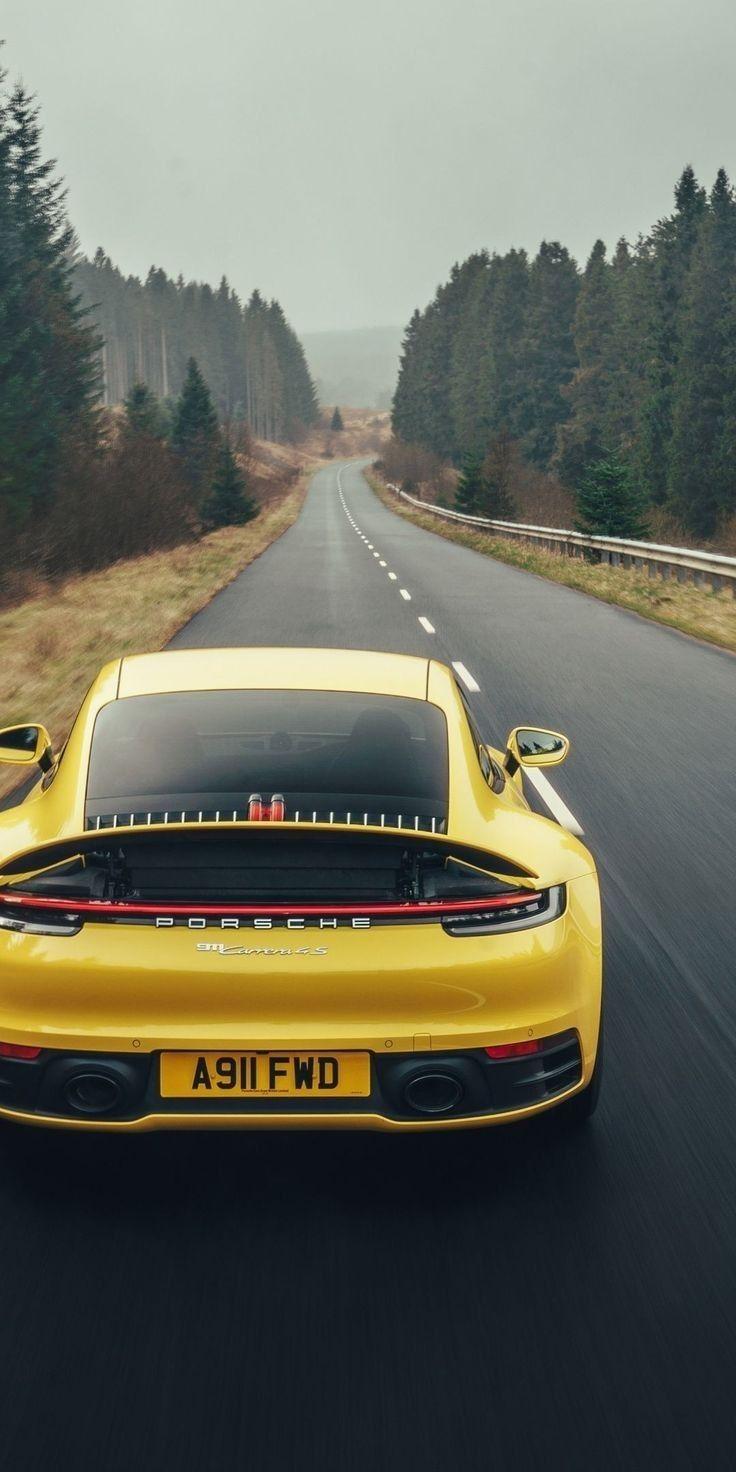 Yellow Porsche Wallpaper Porsche 911 Carrera 4s Luxury Car Photos 911 Carrera 4s