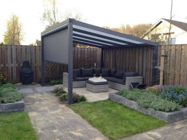 Terrasoverkapping veranda overkapping tuinkamer tuininspiratie tuin buitenleven - Tent tuin pergola ...