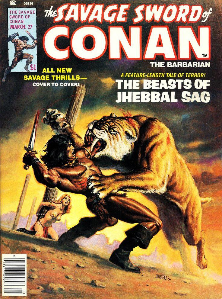 The Savage Sword of Conan 27