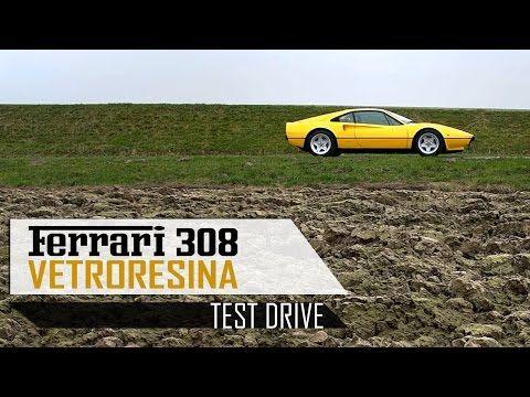 FERRARI 308 GTB VETRORESINA 1976 - Full test drive in top gear - V8 Engine sound | SCC TV - YouTube